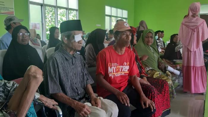 Gandeng BKMM Dinkes Sinjai Gelar Operasi Katarak Gratis, Masyarakat : Terima Kasih
