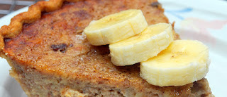Torta de banana light