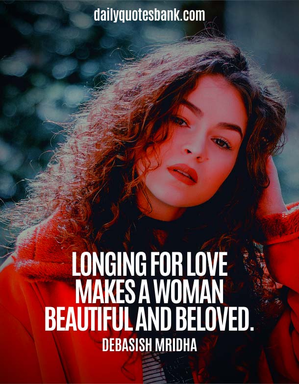 Love Quotes About Beauty Of Woman and Girl