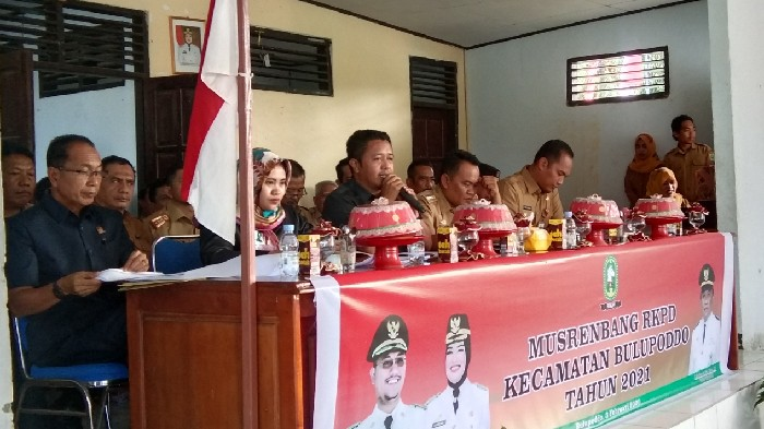 3 Legislator DPRD Sinjai Ini Kompak Hadiri Musrenbang di Bulupoddo