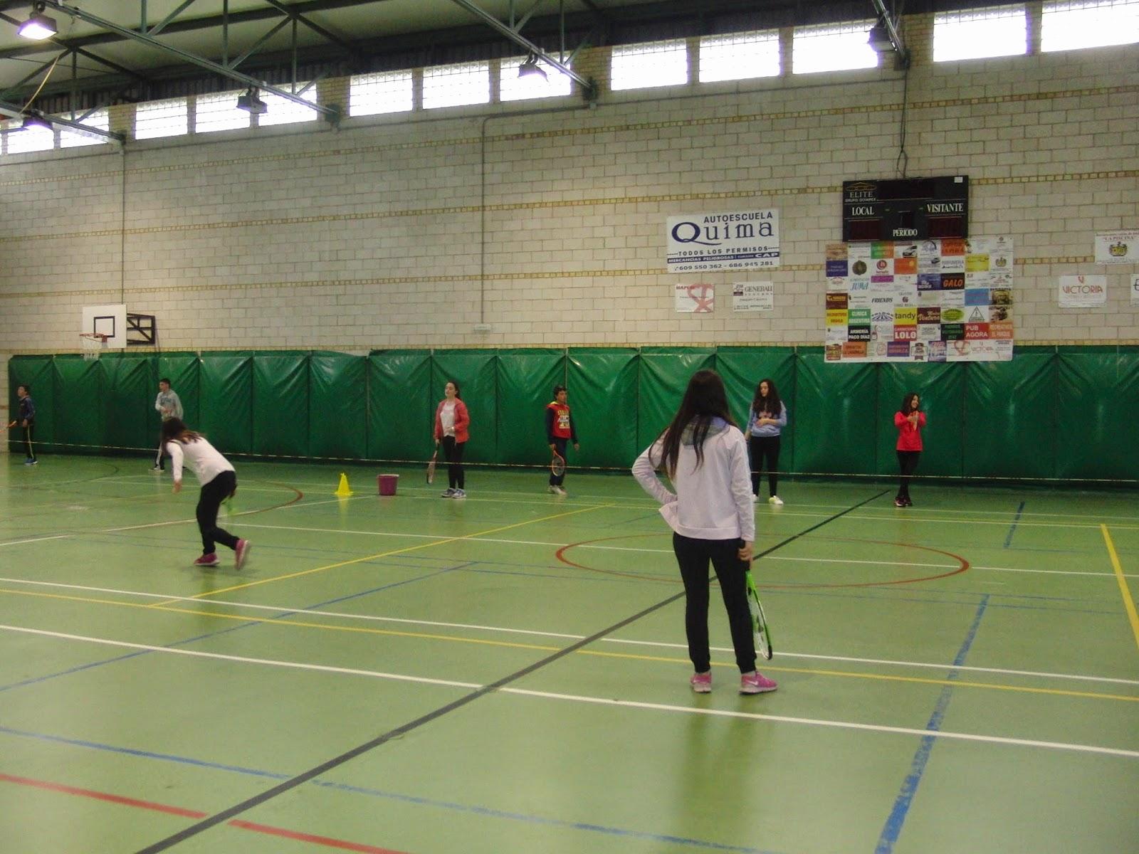 Educacion Fisica 2º Eso Tenis Y Juegos De Calentamiento