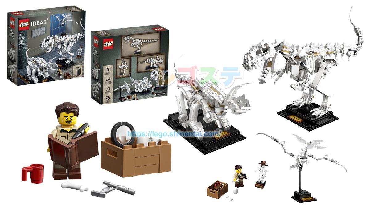 21320 恐竜の化石標本:レゴ(LEGO) アイデア