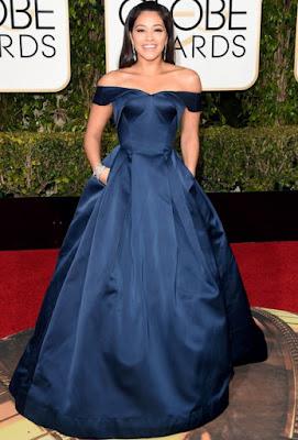 Gina%2BRodriguez%2Bin%2BZac%2BPosen - Globos de Ouros/ Golden Globes 2016