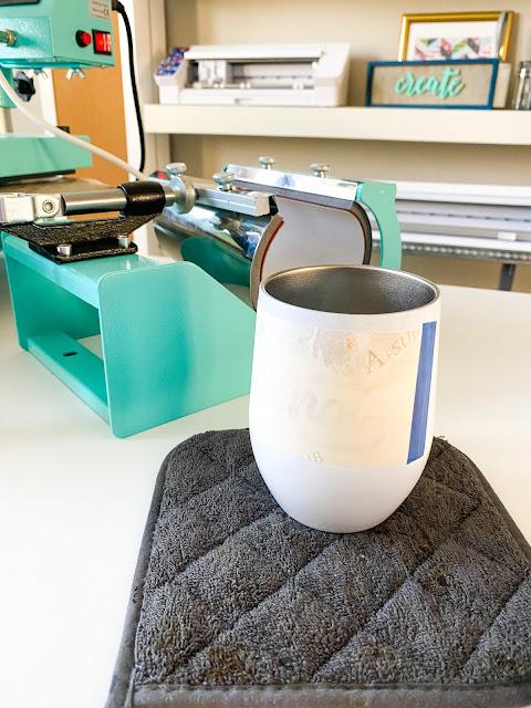 sawgrass, 8-in-1 heat press, sublimation printing, mug press, wine tumbler