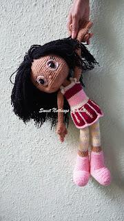 crochet amigurumi, crochet doll, crochet cuddly doll