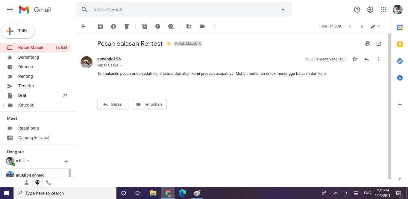 membuat email balasan