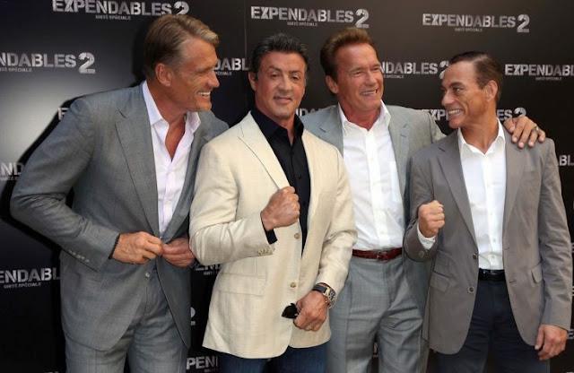 "Stallone, Lundgraden y Van Damme van por ""Expendables 4"""