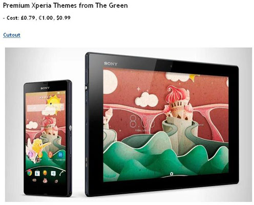 The Green Rilis Sembilan Wallpaper Premium Untuk Sony Xperia