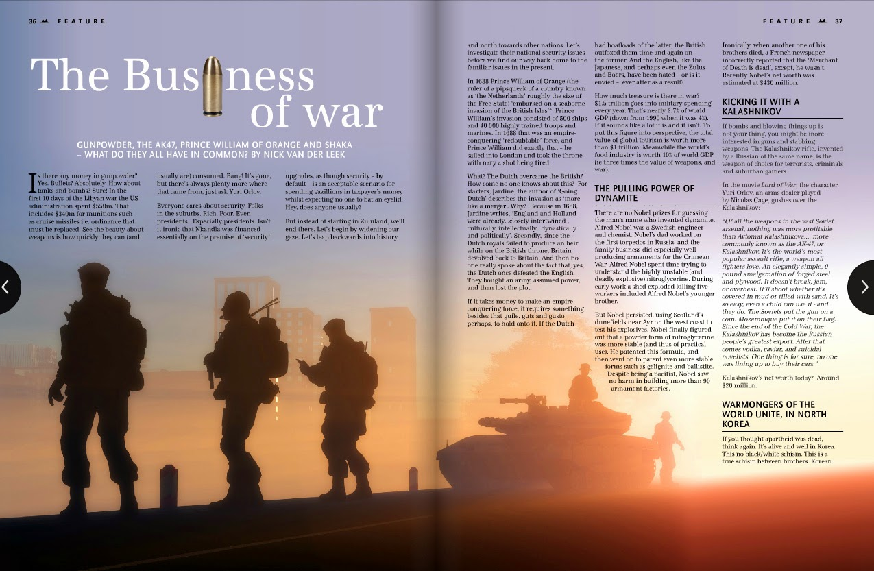 the business of war and terrorism essay The cause and effects of terrorism many people didn't want to take the risk to start a business as terrorism the veterans were then diagnosed with gulf war.