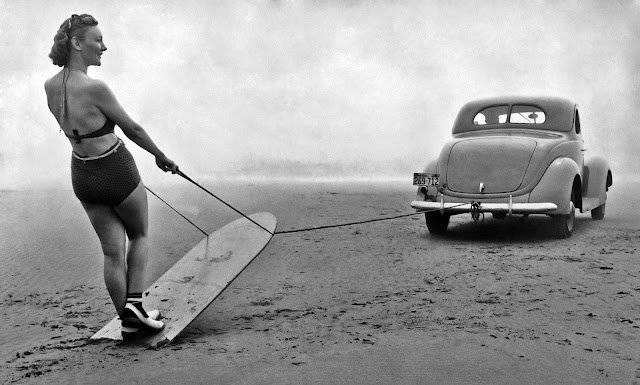 20 Surf Photos That Show Women Making Waves From The 1930s