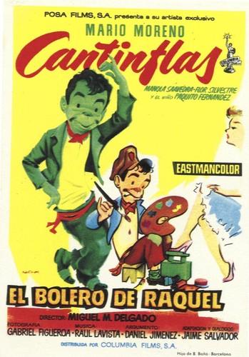 El bolero de Raquel (1956) [BRrip 720p] [Latino] [Comedia]