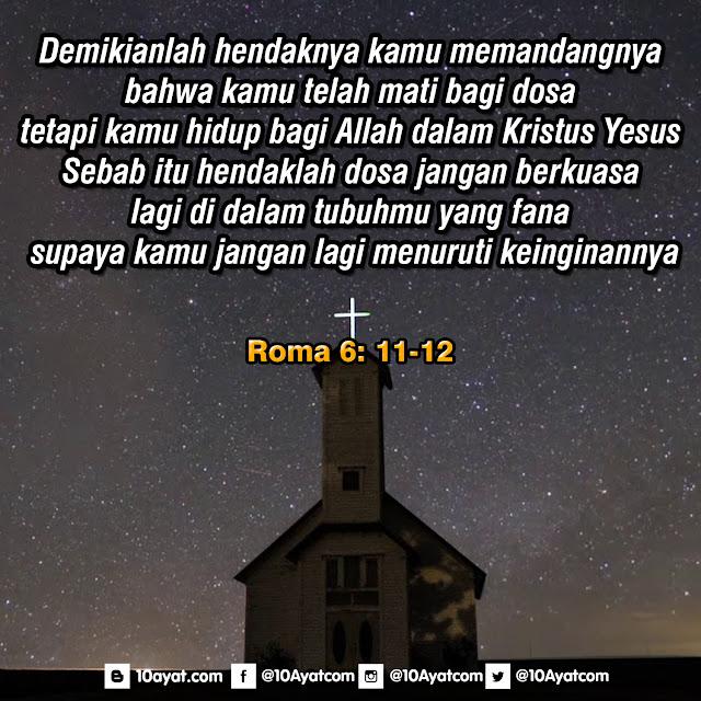 Roma 6 : 11-12