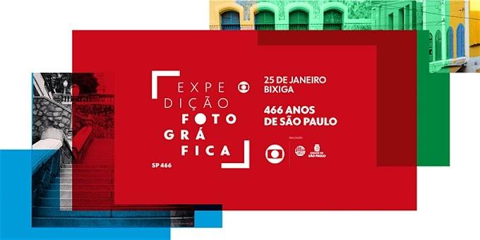 Globo promove expedição fotográfica pelo Bixiga