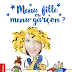 Menu fille ou menu garçon ?,  un petit livre sur l'égalité des sexes (Mylène)
