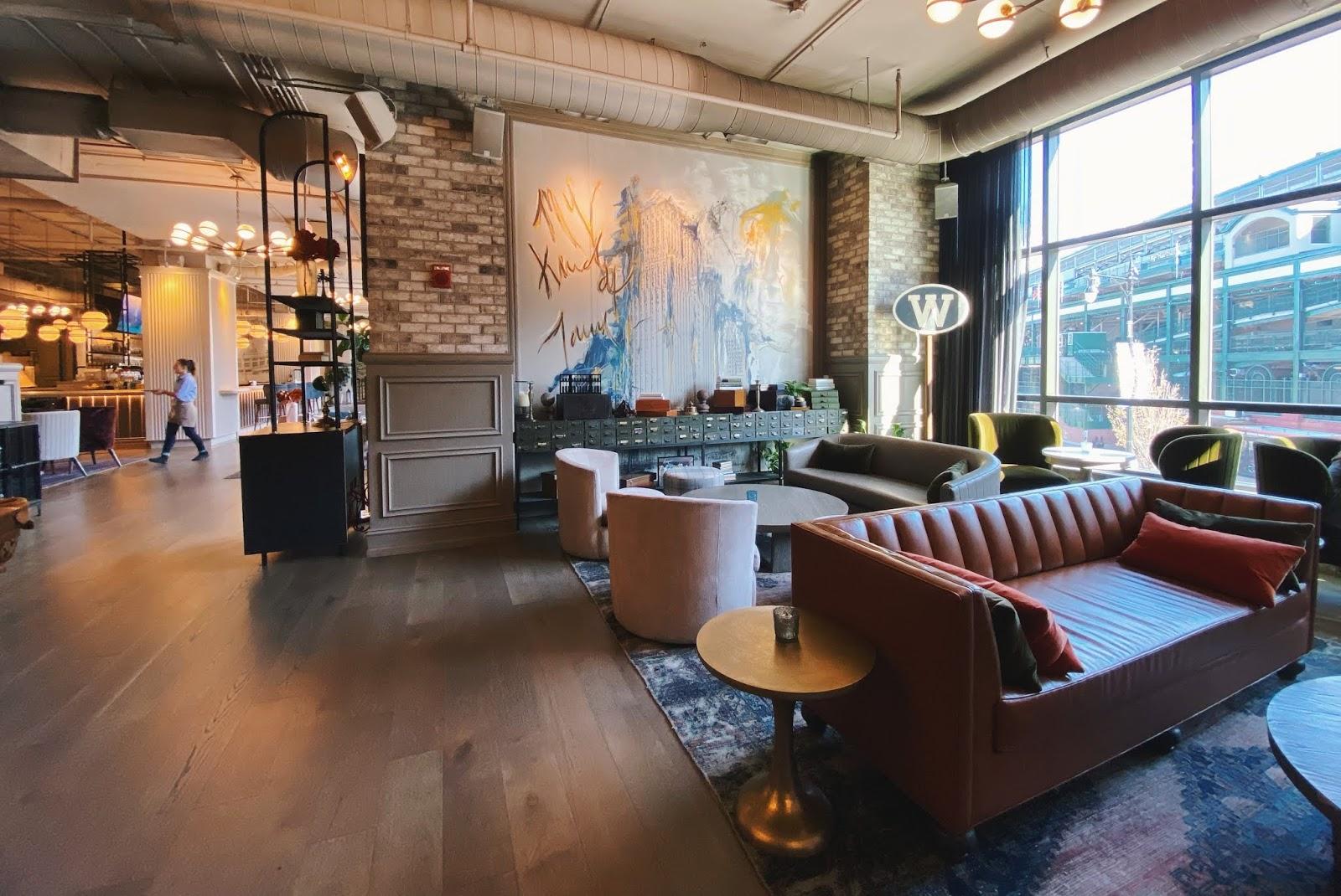 Hotel Zachary Lounge