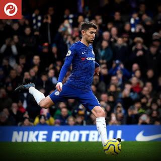 Jorginho has scored every penalty he has taken for Chelsea under Lampard