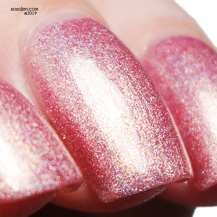 xoxoJen's swatch of Nail Hoot Lacquer Susan