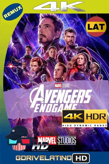 Avengers: Endgame (2019) BDRemux 4K HDR Latino-Ingles MKV