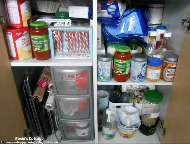 Kitchen Cabinet Re-Organisation: What a mess! Time to get to work...