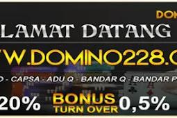 DOMINO228 | Situs Judi Online Poker Domino 99 Terbaik dan Terpercaya