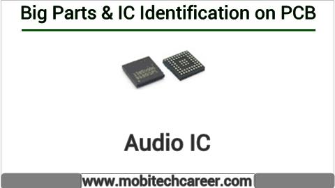 Audio ic identification on mobile cell phone smartphone pcb circuit board motherboad | Audio ic ki mobile phone pcb par pahchan kaise kare | Audio ic की मोबाइल रिपेयरिंग में पीसीबी पर पहचान करना सीखें कार्य व खराबियाँ | मोबाइल रिपेयर करना हिन्दी में सीखें | PCB पर All IC पहचान
