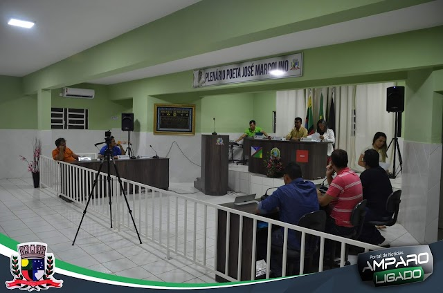 Câmara de Vereadores de Amparo realizou mais uma reunião, confira os destaques