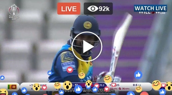 Sri Lanka vs South Africa Live Match Today RSA vs SL ICC CWC 2019