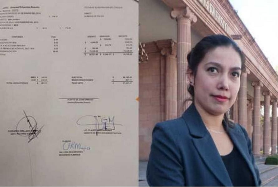 Funcionaria de Coahuila trabaja un mes y recibe finiquito de 87 mil pesos