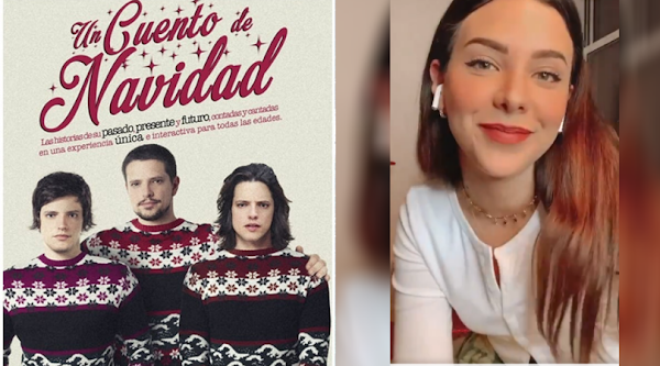 """Lasso y Sheryl juntos de nuevo en """"Un Cuento de Navidad"""""""