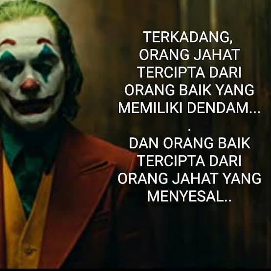 Kata Kata Bijak Joker Terbaru