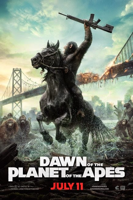 """""""Dawn of the Planet of the Apes (2014)"""" movie review by Glen Tripollo"""