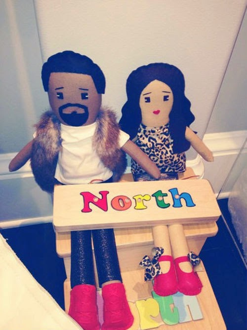 Toys for North West: Mom and Dad as doll