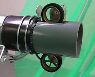 Пример ствола с двумя роликами
