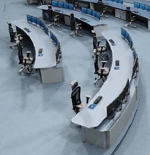 Mobiliario tecnico consolas de operacion