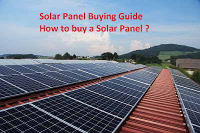 How to buy a solar panel