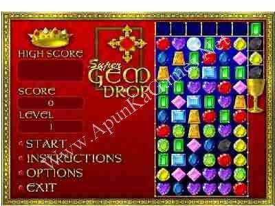 Super Gem Drop Game