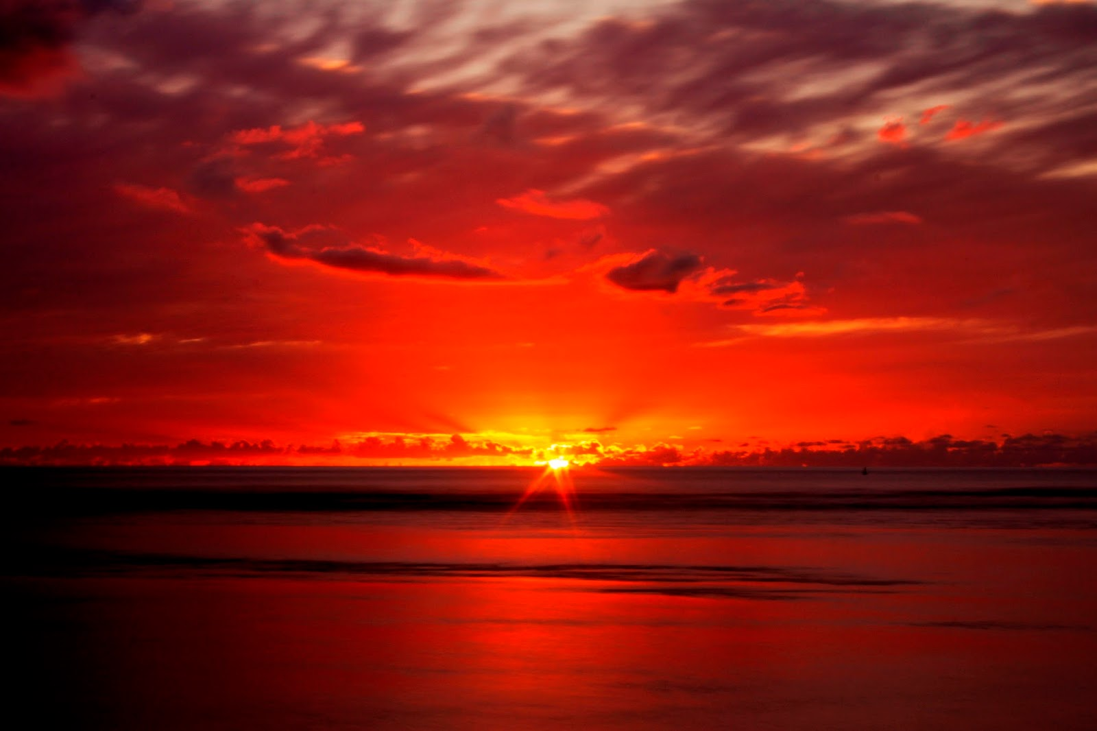 Amazing Colourful Sunset