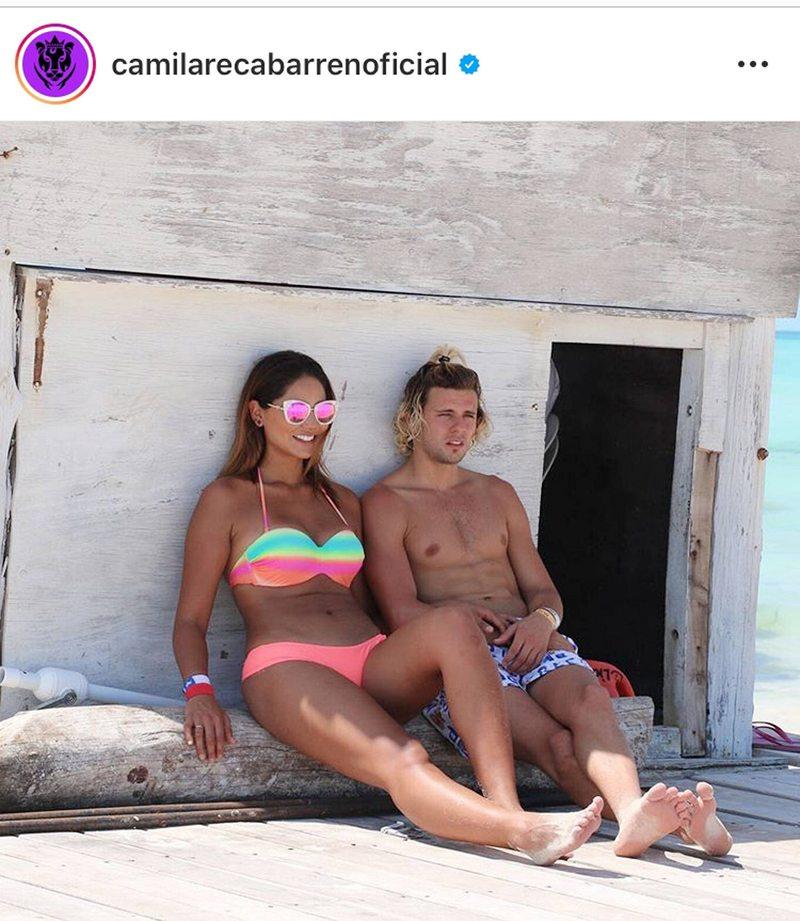 Camila Recabarren homenajeó a su ex
