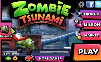 Zombie tsunami mod apk game
