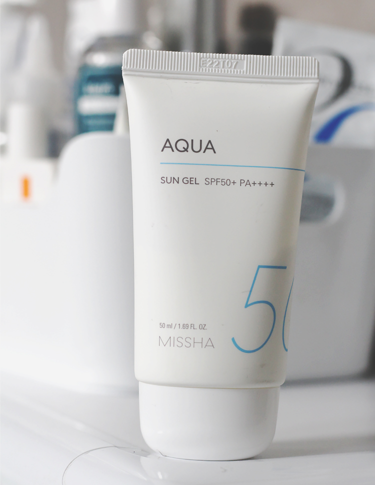 missha all around safe block aqua sun gel opalovací krém recenze
