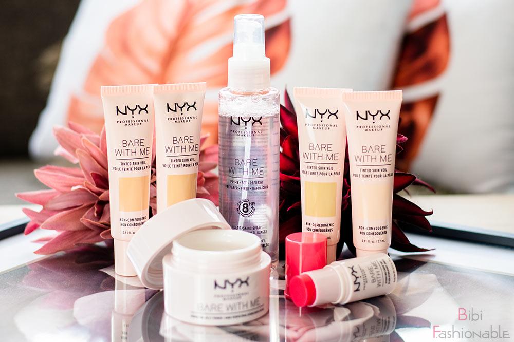 NYX Professional MakeUp Bare with Me Reihe Titelbild