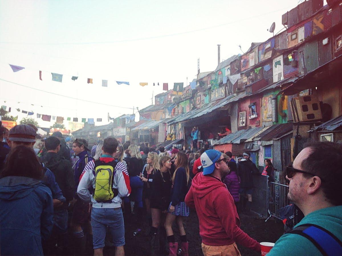 Glastonbury festival, Silver Hayes, The Blues