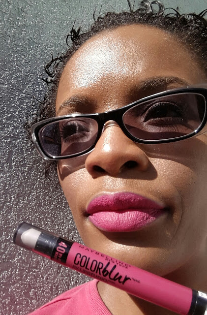 Maybelline Color Blur by Lip Studio Cream Matte Pencil 'My-My Magenta' swatch www.modenmakeup.com