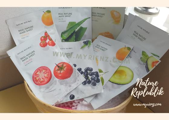 Sheet Mask Nature Republic Untuk Menghilangkan Bekas Jerawat