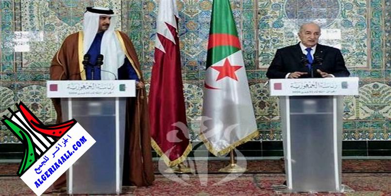 الندوة الصحفية بين الرئيس تبون و الشيخ تميم.png