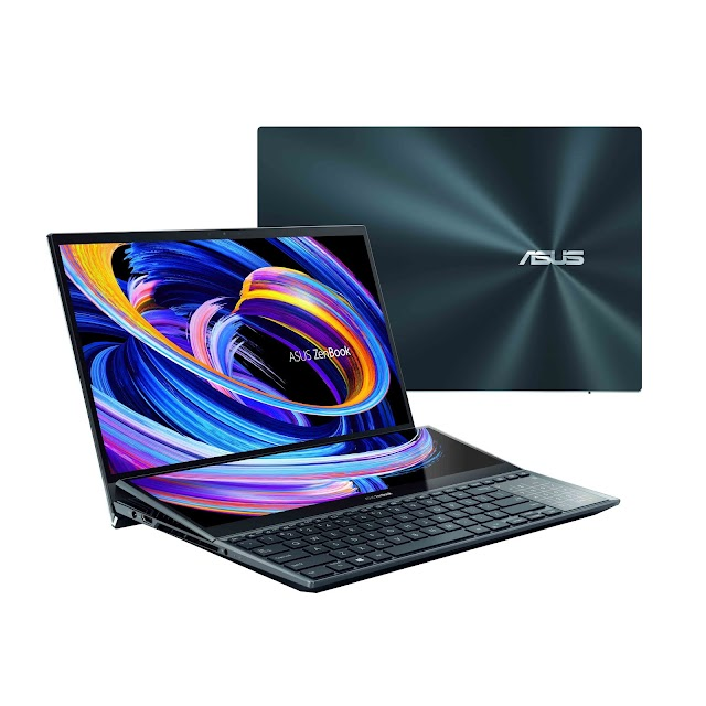 Experience The Laptops Of Tomorrow with the newest edition of ASUS ZenBook Dual Screen Laptops in India