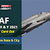 IAF Group X & Y 2021 Admit Card out : Check Exam Date & City