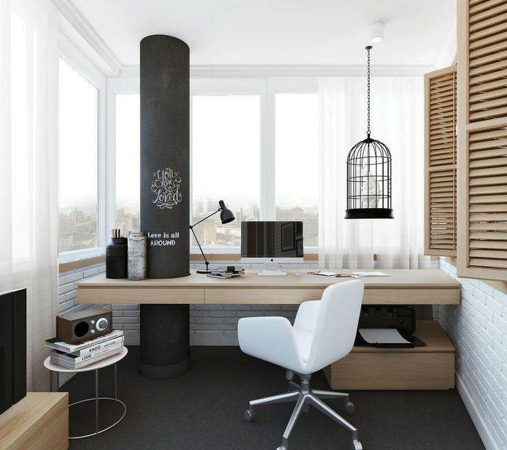 Home Office Na Sacada Reciclar E Decorar Blog De