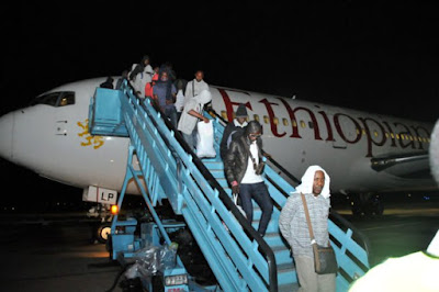 Stranded Nigerians In Russia Return Home