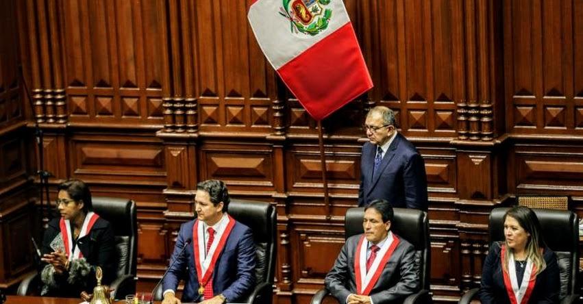 Mesa Directiva presidida por Daniel Salaverry se instala hoy en el Congreso de la República